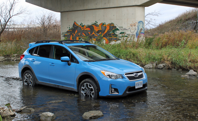 Get a Good Ride into the Wilderness with a 2016 Subaru Crosstrek